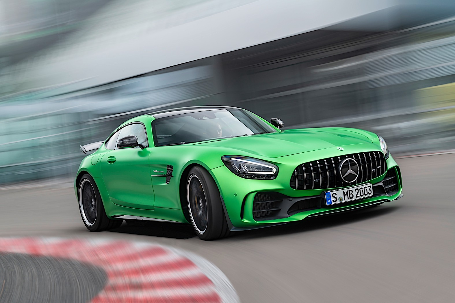 The 2020 Mercedes-AMG GT Gets More Tailpipes, Improved Dynamics
