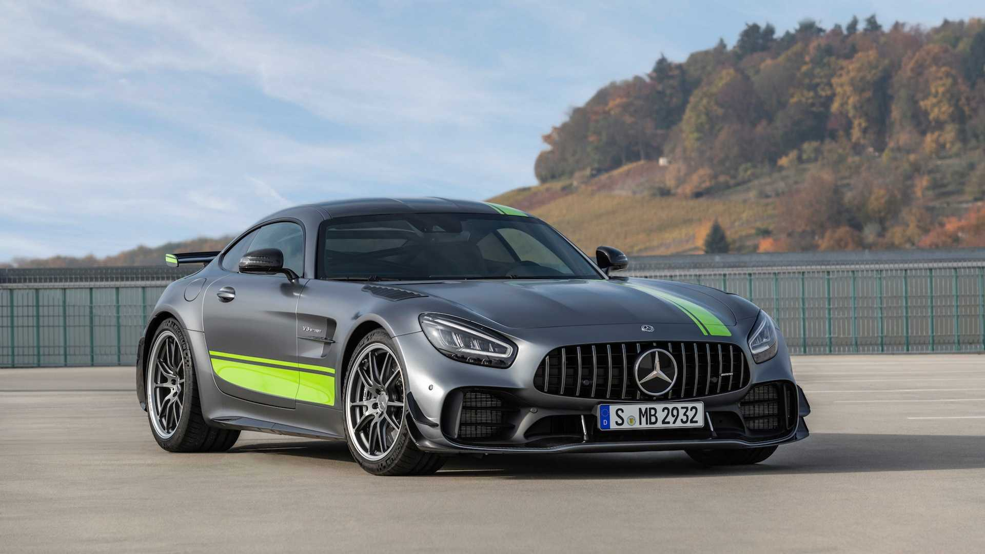 2020 mercedes amg gt r pro leads facelifted lineup with. Black Bedroom Furniture Sets. Home Design Ideas