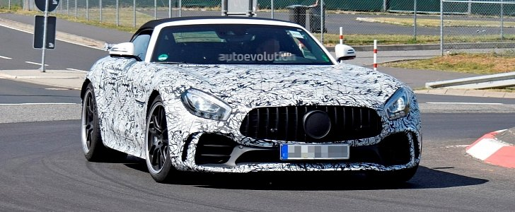 2020 Mercedes-AMG GT R Roadster Confirmed By Car Insurance Website