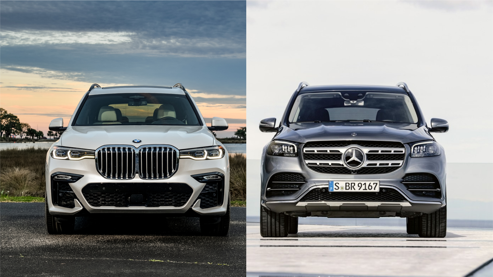 2020 Mercedes Benz Gls Class Vs Bmw X7 Big Luxury Suv Photo Comparison Autoevolution