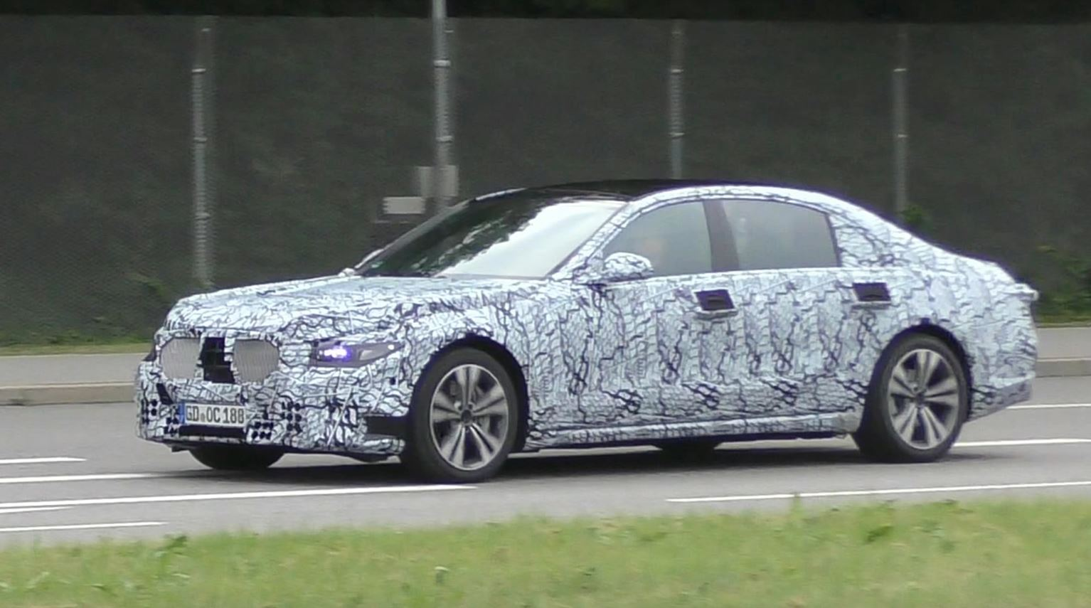 2020 Mercedes-Benz S-Class W223 Spied Testing in Germany ...