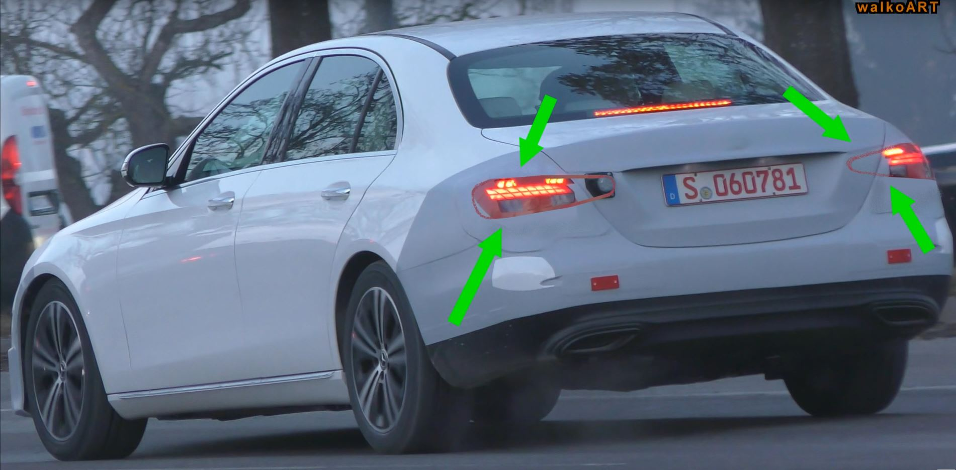 2020 The Spy Shots Mercedes E Class Price and Release date