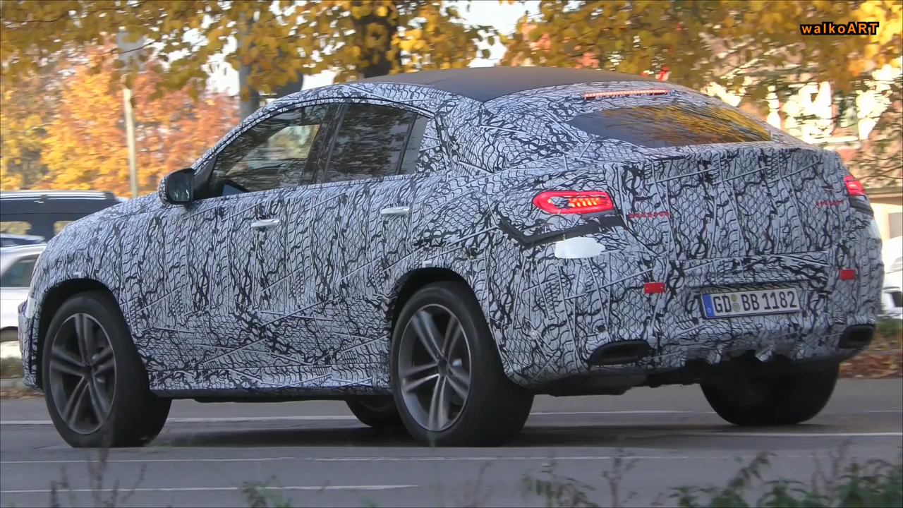 2020 Mercedes GLE Coupe Spied, Is Getting Ready to Take Your Money