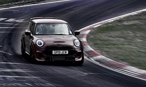 2020 MINI John Cooper Works GP Hits the Nurburgring, Posts Sub-8:00 Lap Time
