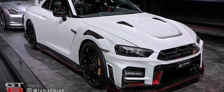 2020 Nissan GT-R Nismo Gets R34 Face Swap, Looks Like a ...