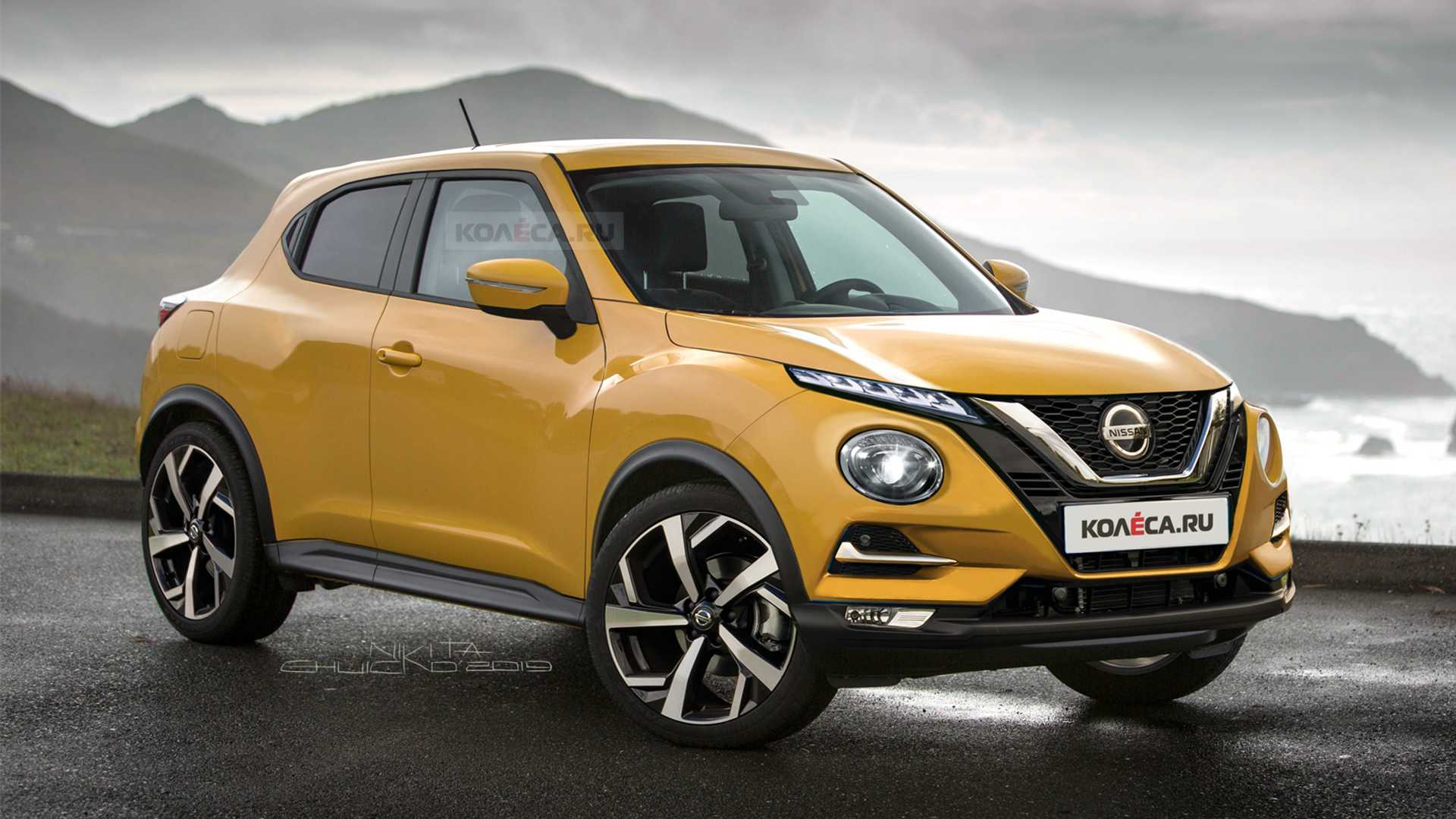 2020 Nissan Juke Rendering Is Just as Strange As the Real ...