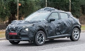 2020 Nissan Juke Spied In Europe Wrapped In A Lot Of Camouflage