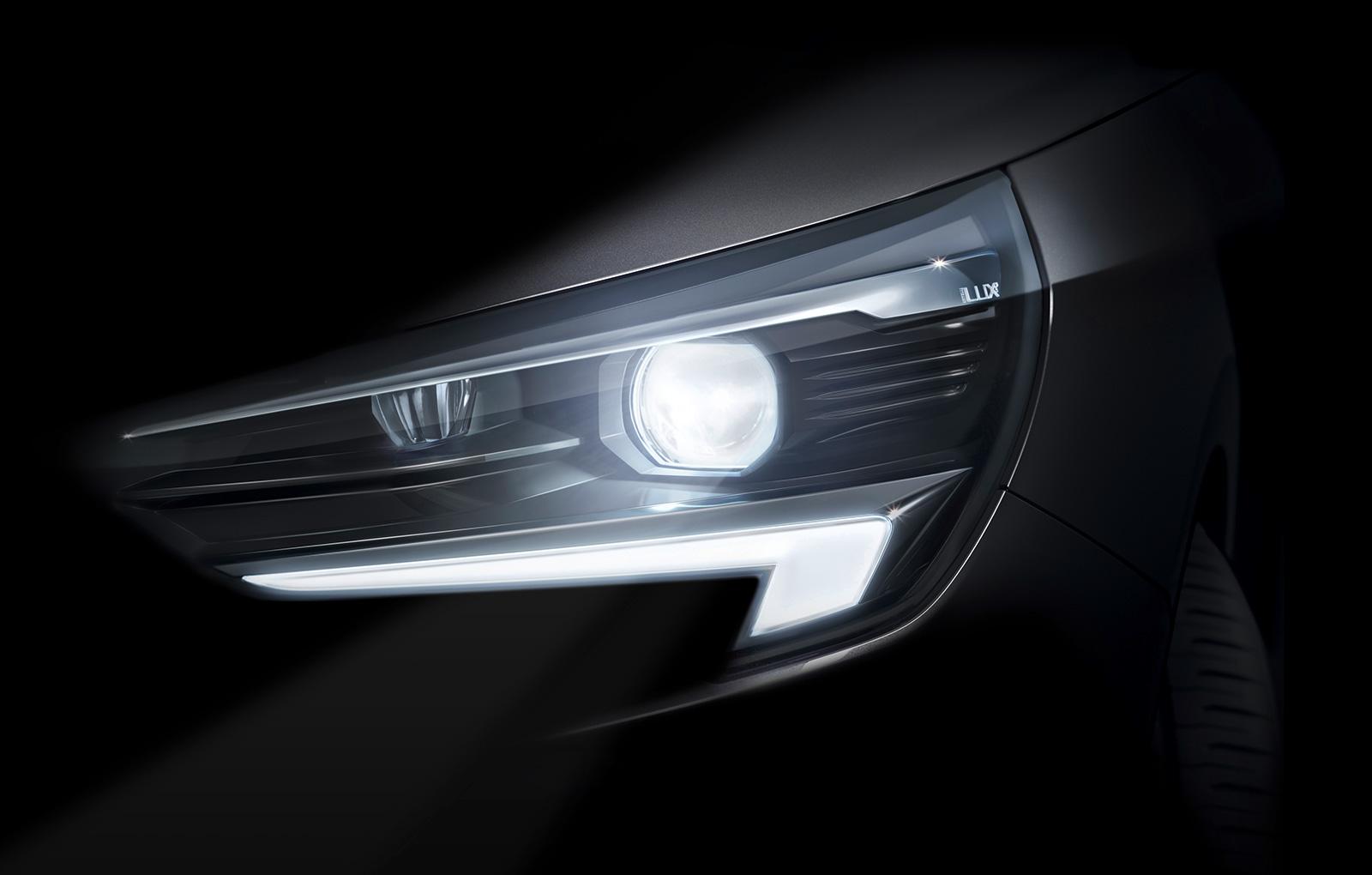 2020 Opel Corsa F Teased With IntelliLux LED Matrix Headlights