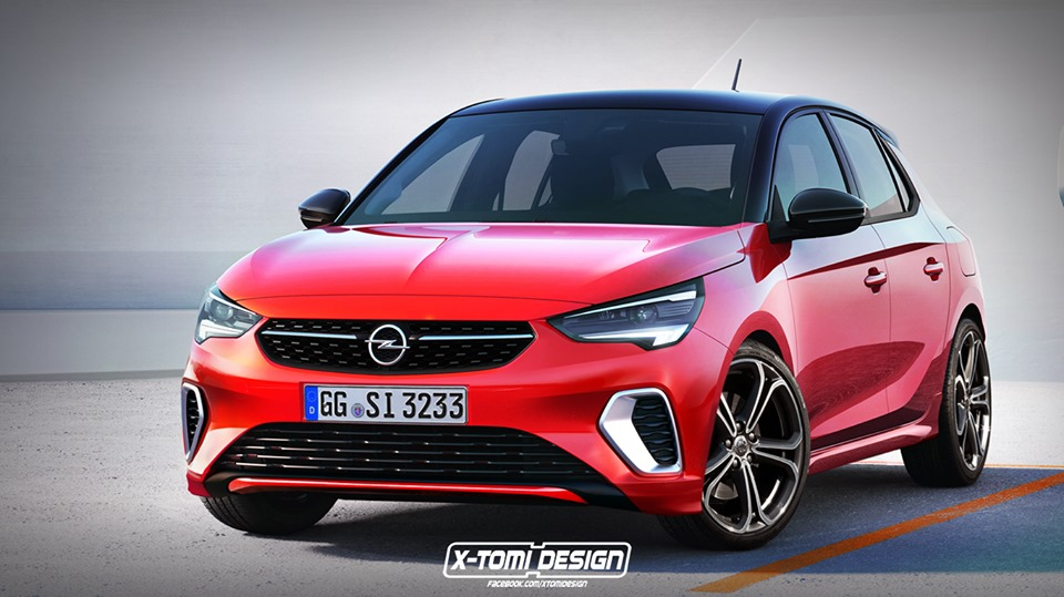 2020 opel corsa gsi rendering looks cool, won't happen