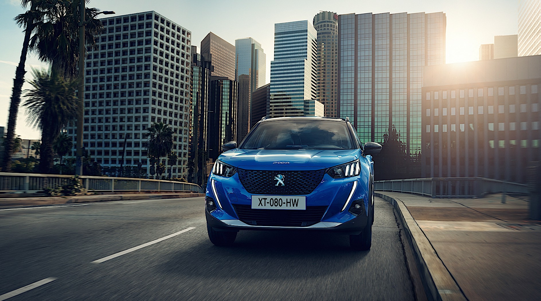 2020 Peugeot 2008 Revealed With Electric Drive And