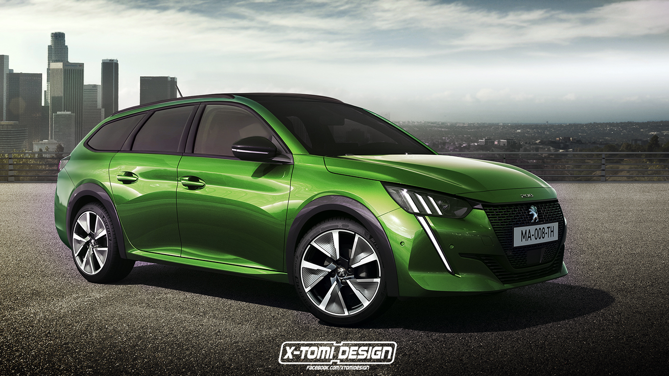2020 Peugeot 208 Wagon Looks Like A Very Practical Idea