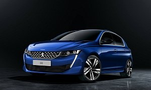 2020 Peugeot 308 Rendered With 508 Face, Rumors Talk about Hybrid
