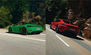 2020 Porsche 718 Cayman and Boxster GTS 4.0 Say No to Forced-Induction