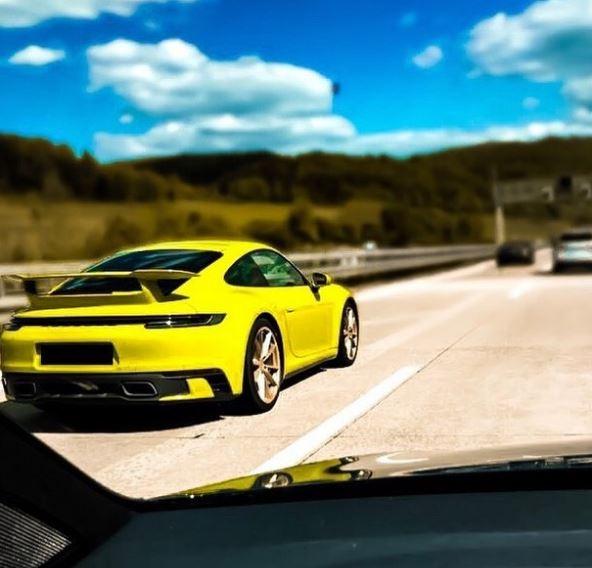 2020 Porsche 911 Carrera Base Model Spotted With Carrera