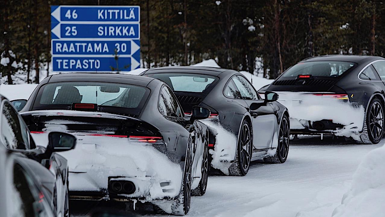41acabdb98ce 2020 Porsche 911 (992) Extreme Global Testing Program Detailed ...