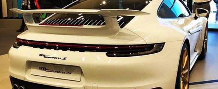 2020 Porsche 911 Gets Aerokit Rear Spoiler Looks Like A