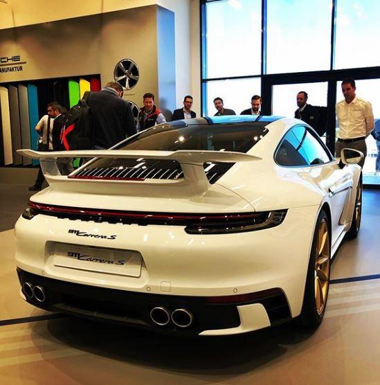 2020 Porsche 911 Gets Aerokit Rear Spoiler Looks Like A Gt3