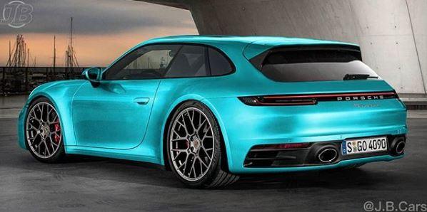 2020 Porsche 911 Sport Turismo Rendered Looks Brilliant