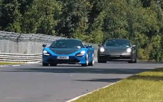 Update 2020 Porsche 911 Turbo Chases Mclaren 720s On Nurburgring