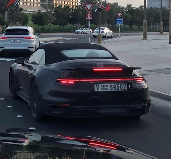 2020 Porsche 911 Turbo Cabriolet 992 Spotted In Dubai