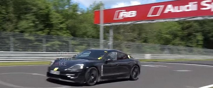 2020 Porsche Taycan Laps Nurburgring In Utter Silence