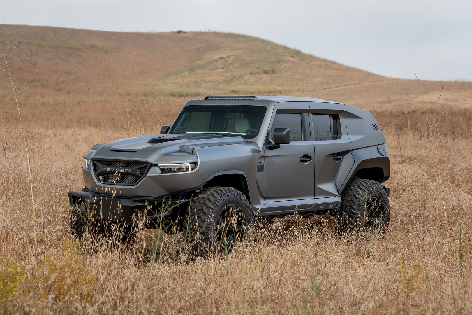 2020 Rezvani Tank Can Be Optioned With Hellcat V8 Engine Emp Protection Autoevolution