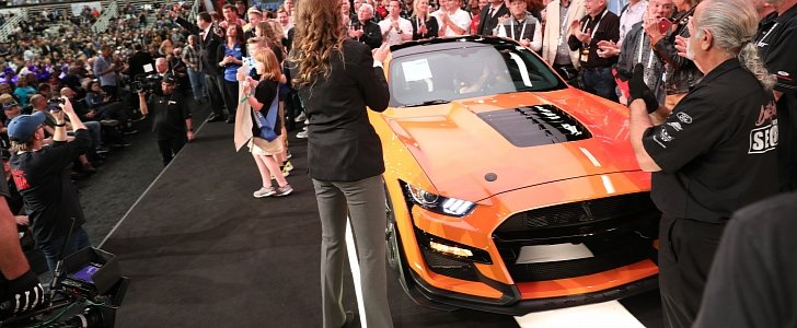 2020 Shelby GT500 VIN 001 Sells For $1.1 Million At Auction - autoevolution