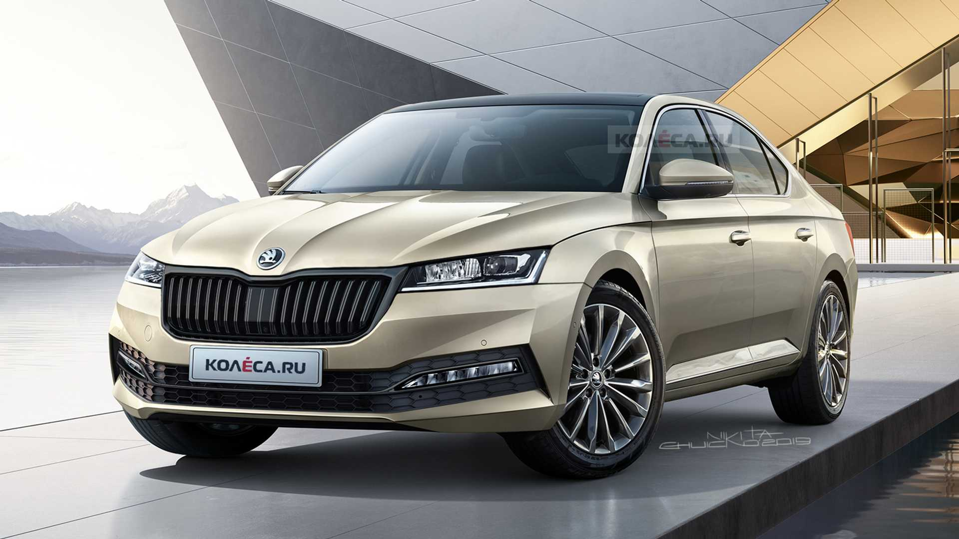 2020 Skoda Octavia Rendering Shows Evolution Of Czech Design Autoevolution