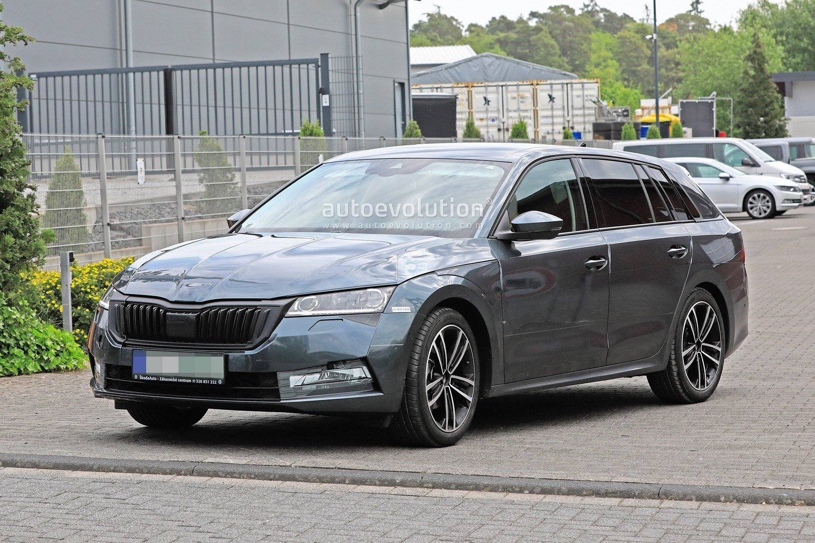 2020 The Spy Shots Skoda Superb Review and Release date