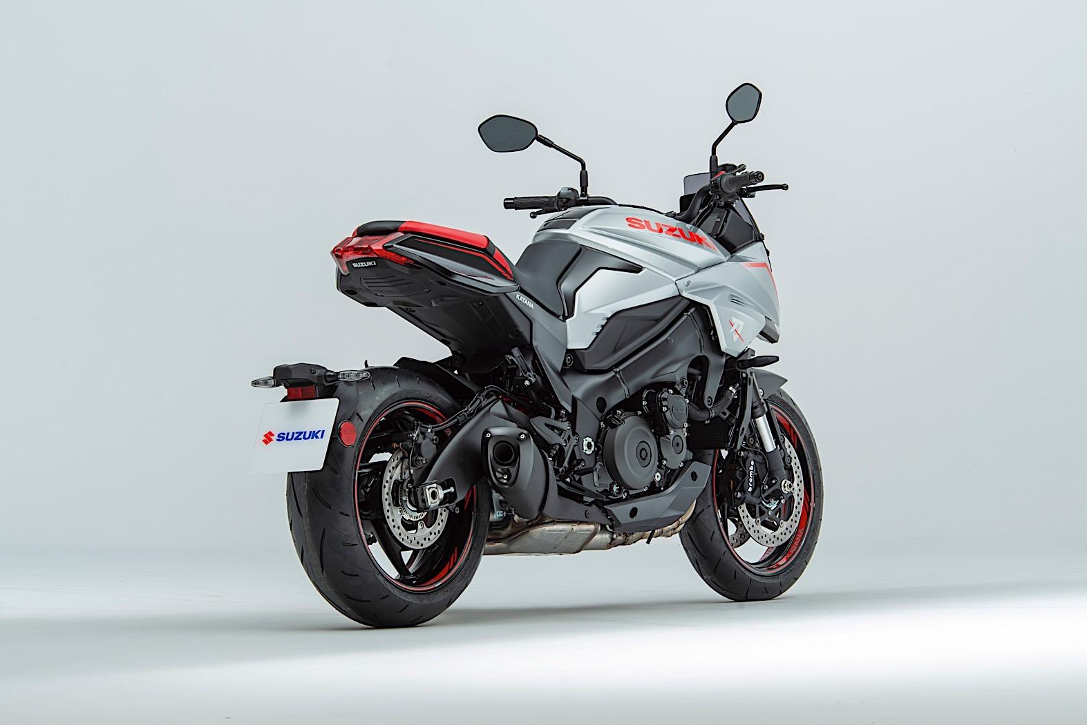 2020 Suzuki Katana Available with Samurai Pack in the UK, Priced