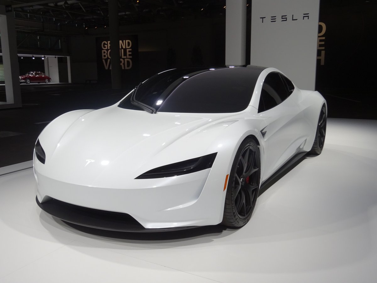 2020 Tesla Roadster Ii Makes European Debut In Switzerland