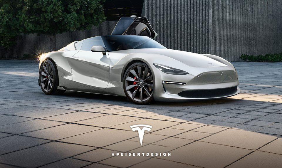 Tesla 2020 roadster