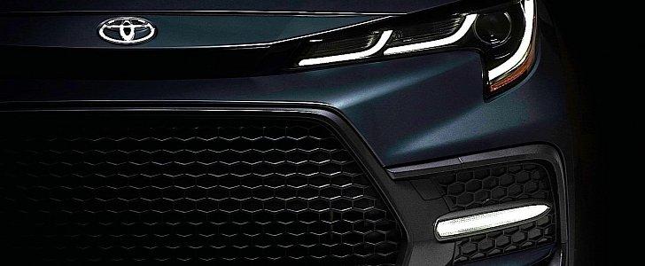 2020 Toyota Corolla Sedan for North America to Show on November 15 thumbnail