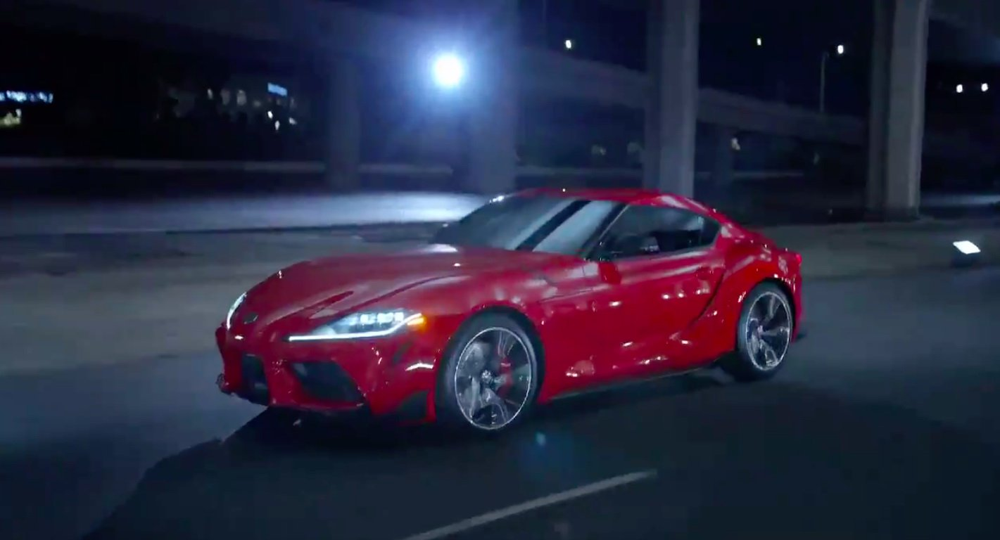 New 2019 Toyota Supra: official images and details revealed