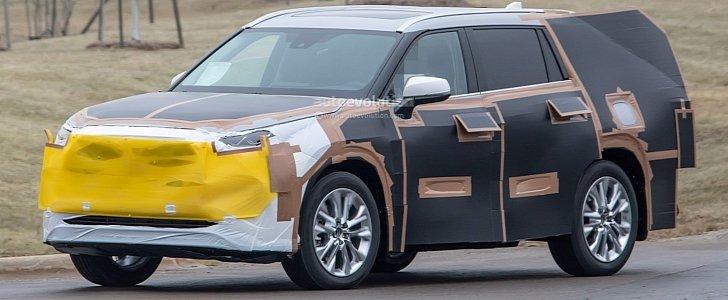 2020 Toyota Highlander Spied, Features RAV4-inspired Front Grille