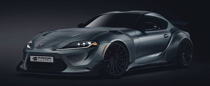 2020 Toyota Supra Body Kit By Prior Design Is Going To Be Wild Autoevolution