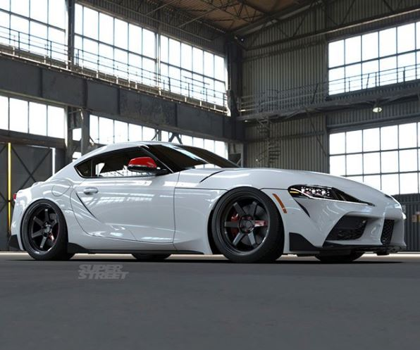 Update 2020 Toyota Supra Lowered On Volk T37 Wheels