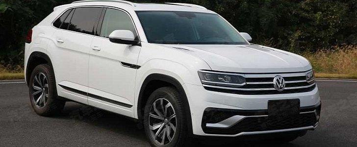 2020 Volkswagen Atlas Sport Spied Uncamouflaged In China - autoevolution