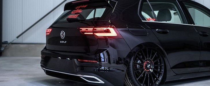 2020 VW Golf Lowered on Air Suspension or KW Coilovers: Pick Your Poison - autoevolution