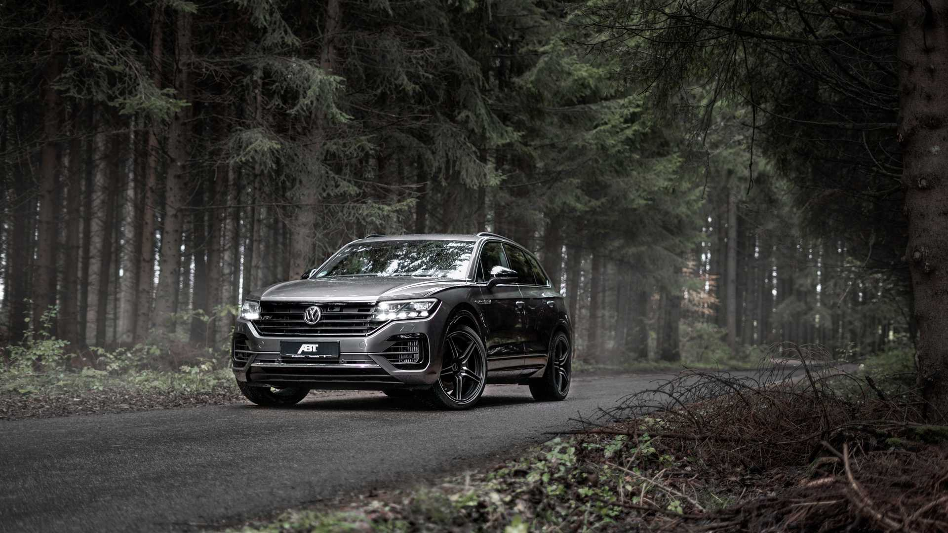 2020 vw touareg v8 tdi from abt has an astronomical torque output autoevolution 2020 vw touareg v8 tdi from abt has an