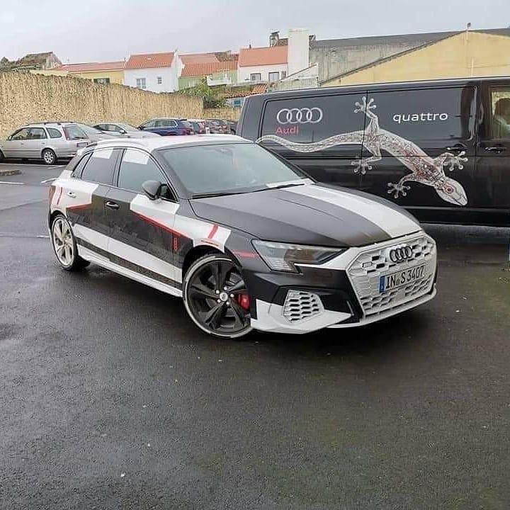 2021 Audi S3 Hatchback Leaked, Baby RS6 Has 333 HP ...