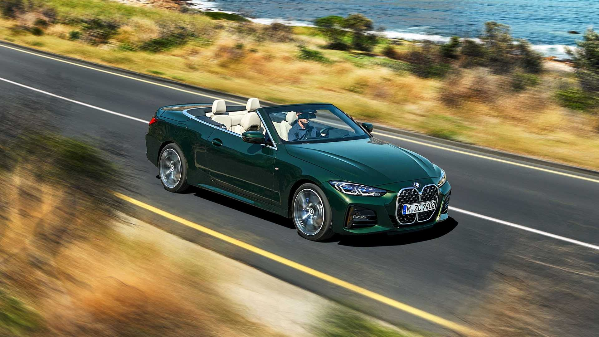BMW 4-Series Convertible Lands In U.S., Priced From $51,300