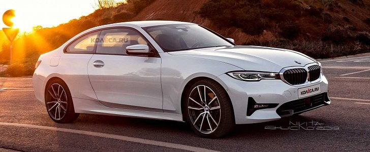 2021 BMW 4 Series Coupe Rendering Shows Refined Styling ...