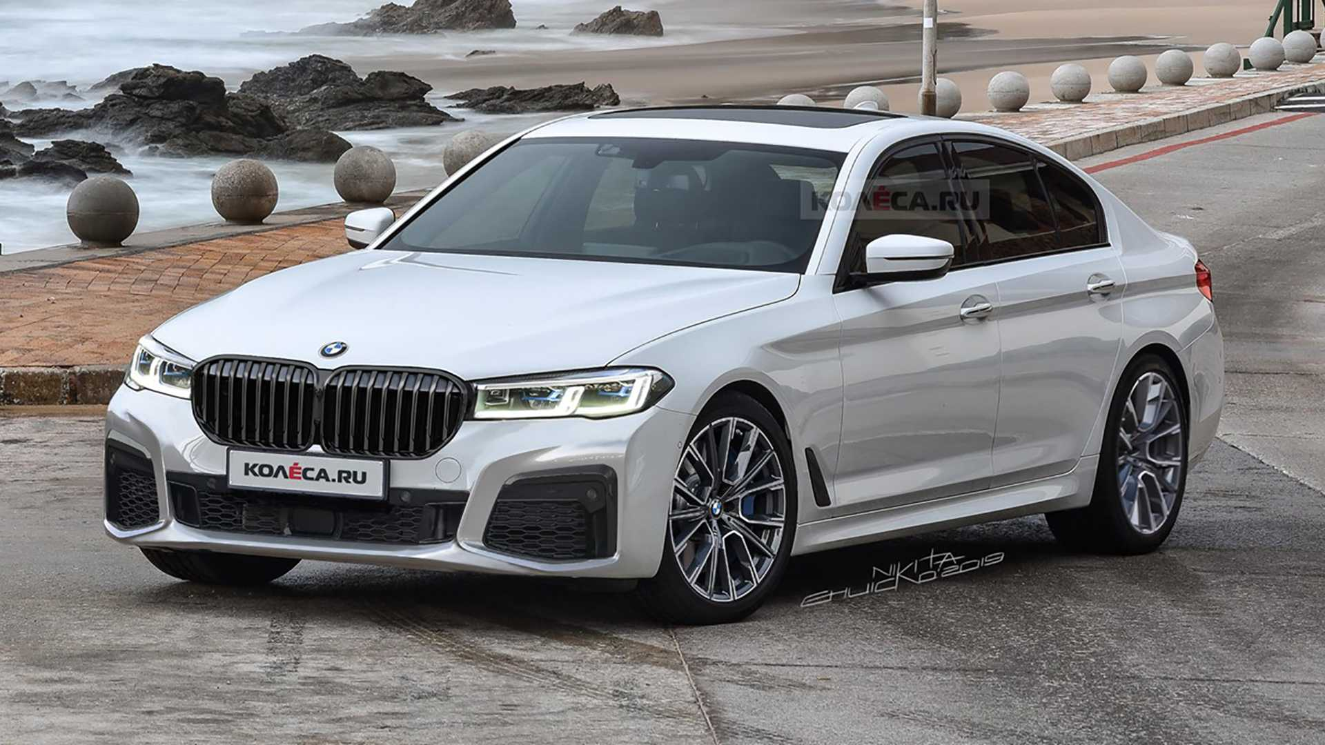 2021 BMW 550I Speed Test