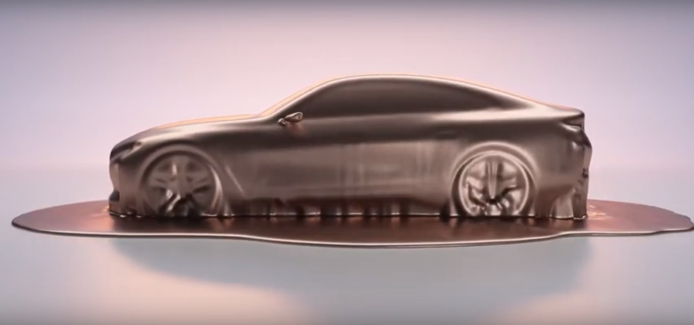 2021 BMW i4 Electric Gran Coupe Previewed, Will Feature 80 ...