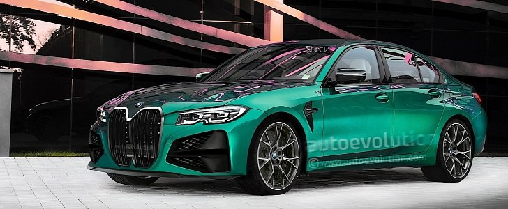 2021 bmw m3 g80 will sadly look pretty much like this