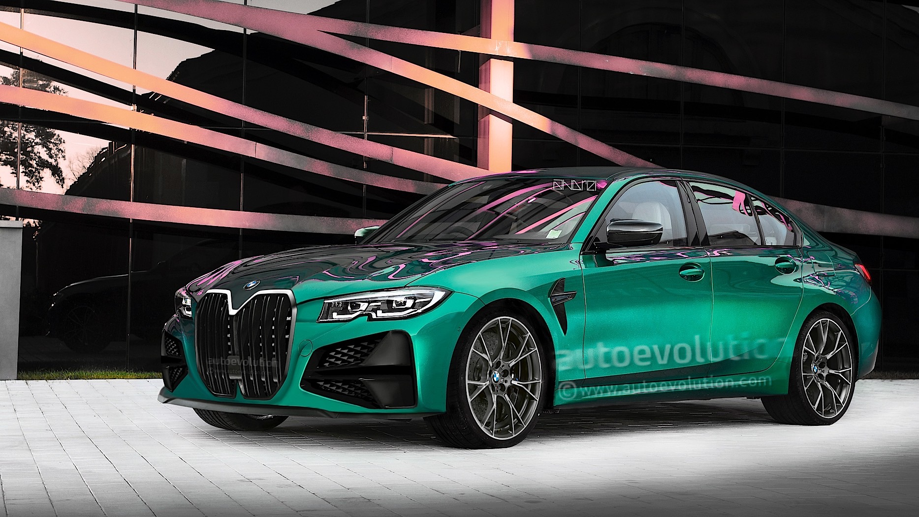 2021 Bmw M3 G80 Will Sadly Look Pretty Much Like This Autoevolution