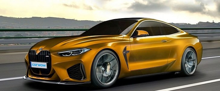 2021 bmw m4 coupe rendering is all kinds of crazy