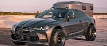 "2021 BMW M4 ""Safari Camper"" Turns Sports Car into Adventure Home"