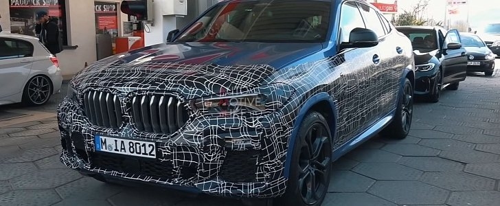 2021 BMW X5 Will Introduce Electric Version >> 2021 Bmw X6 M50i Spied Testing At The Nurburgring Sounds Good